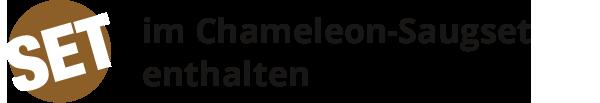 Im Chameleon-Saugset enthalten